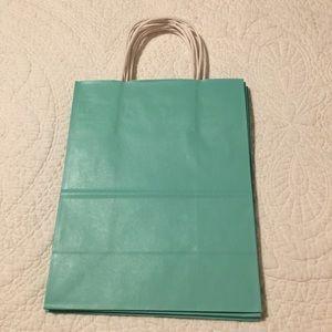Gift bag Tiffany blue pkg of 20